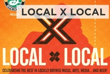 Local X Local: Presented by Brooklyn Brewery / Hosted at Brooklyn Bowl in Williamsburg by Brooklyn Brewery, Local X Local showcases NYC's best music, food, beer, art, and media. In addition to a music performance, the free-with-RSVP events feature local businesses and artists who are invited to sample and sell their wares to partygoers.  LXL is designed and developed by Learned Evolution.  These are some of the awesome local businesses who have partnered up with Local X Local in the past couple years! // #BrooklynBowl / by Brooklyn Bowl