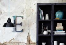 Industrial interior / Industrial modern interior. Wil je meer weten over een industrieel interieur? Bekijk ook eens mijn blog over industriële interieuren: http://myindustrialinterior.blogspot.nl/ / by Gemma van der Vegt