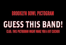 """Brooklyn Bowl Pictograms / GUESS THIS BAND/DJ/ARTIST!! #Pictogram designed by Learned Evolution // #BrooklynBowl #NYC #LearnEvolve #Music #Bands #Art  Check out our secret board: """"Pictogram Answers"""" for all the correct answers! http://bkbwl.com/18RFjtG   / by Brooklyn Bowl"""