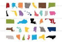50 States / by Veronica Beaverhousen
