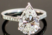 Pear Shaped Engagement Rings / by I Do Now I Don't