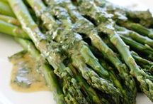 Asparagus!  Mmmmm! / It's green!  What's not to love! / by Leslie Loves Veggies