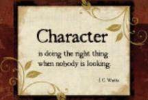 Character / by AussieHomeschool