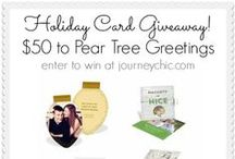 Giveaways / Giveaways happening at JourneyChic.com.  #giveaways / by Laura Kiernan {JourneyChic.com}