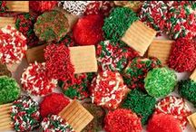 My Favorite Christmas Cookies & Treats / Cookies and Goodies I'll be serving during the holidays / by Leslie Loves Veggies