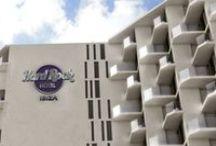 Hotel Hard Rock. Ibiza / El Hotel Don Toni, edificio clásico de Ibiza de los 70, será el primer Hotel Hard Rock de Europa. El estudio madrileño B76 resultó ganador del concurso de proyectos presentando los renders realizados por nuestro equipo de ABpositivo3D. / by AB positivo 3D