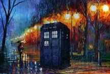 The Doctor / I wish that a handsome man with an accent would take me away on adventures through time and space with him in his blue box (it's bigger on the inside!). / by Marissa Bartlett