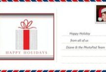 Holidays with PhotoPad / PhotoBooks, Postcards and other Holiday fun accessories! / by PhotoPad For Business