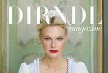 Dirndl Mag Covers / Alle Titel des Dirndl Magazines seit 2011 / by Dirndl Magazine