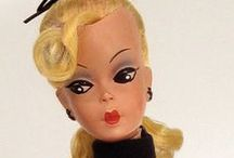 Vintage Barbie / Vintage dolls and fashions inspired by original Barbie doll from Mattel. / by Distinctive Sewing Supplies