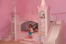 Bedroom Fit for a Princess / Ideas for a Princess style bedroom / by Ella Smith