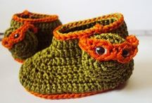 Crochet Baby Booties / Crochet baby booties  / by Carrie Gomez Renzulli