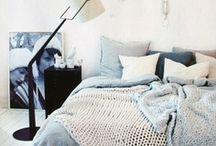 bedrooms / by Kristen Kroening