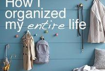 get organized / by Kristen Kroening