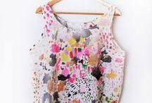 Artsy Clothing Ideas/Pattern / by Erin Gleeson