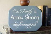 Army Pride. / by Liz Harris