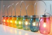 Mason Jars / by Stephanie Torsell ღ
