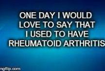 Rheumatioid Arthritis Sucks! / by Amy Rex