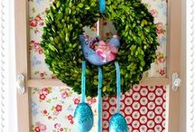 Banners, Garlands, Wreaths, etc. / by Cottage Gal Style