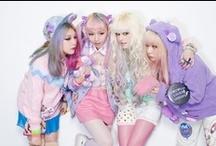 Pastel  / lots of pastel inspiration ^_^  / by Kowareta Doll