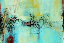 PAINTING, etc... 3 / PAINTING, MIXED MEDIA, COLLAGE, ASSEMBLAGE  / by Marie Guiderdoni