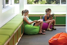 Library Design for Young Minds / Spaces that spark learning, creativity, imagination, and enchantment. / by Rebecca Dunn