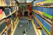 Library Fun for Tweens / Displays, programming, and fun for the in-be-TWEENS in the library. / by Rebecca Dunn