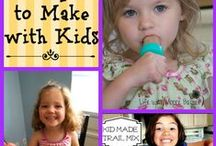Food Kids can Cook or Help Cook / by Candice Egizi-Sifuentez
