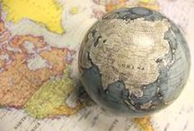 Maps and Globes / by Katrina Nockolds (Precious Gorgeous)