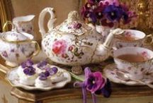 Coffee & Tea Delights / honoring the craftsmanship of handpainted, fine bone china from England, and beverage breaks around the world. / by Alannah