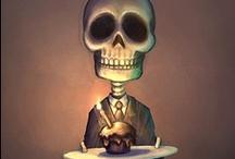 Skulls / by Courtney Heintz