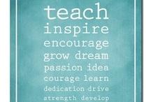 teaching / by Kayla Valentino