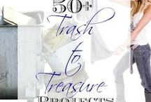 Trash to Treasure / Trash to Treasure includes anything discarded and unused and turned into a beautiful treasure; recycling crafts, furniture restoration, upcycle projects - your ideas are welcome...please share!  / by Tami Michel (Curb Alert! Blog)