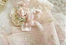 """Art*Lace, Silk, Delicate & Dainty / """"A thing of beauty is a joy for ever: Its loveliness increases; it will never Pass into nothingness;..."""" John Keats (1795-1821) / by Cathy Kent"""