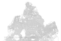 DESIGN : MAPS + CARTOGRAPHY / #cartography #map #NYC #Brooklyn #vector #design / by Jacqueline VanDusen