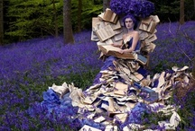 Bookish Art / Art from books and Art about books. / by Amanda Patterson