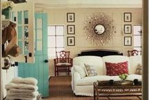 Mood Rooms / Dining Rooms, Living Rooms, and Sitting Rooms, Oh My!  / by Erika Baker