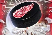 Detroit Red Wings - Hockey / by Dawn Bourgette - Dawn's Creative Chalet