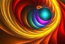 Rainbow Colors / All colors of the rainbow / by Lovinglf Designs