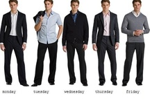 """Business Casual"" for Men / by Ouachita Career Services"