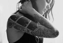 Tattoo graphic geometric / Ink , geometric / by Chloe Veillard