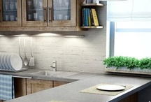 Rebuilding: Kitchen/Laundry Ideas / by Ami Jah
