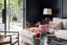 Living spaces / by Rachel Huffman Moore