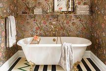Baths / dramatic bathtubs. BOOM. / by Susan Burran