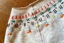 Make - Embroider / Embroidery ideas. / by Tamara Ramsey