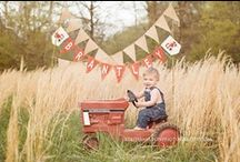 Hoedown Farm Party / We're having a hoedown on the farm.  Complete with all the farm animals, and cowboy duds. / by Valerie Young