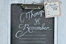 Gift Ideas / DIY gift ideas for many different occasions! #DIYgifts / by Bethany {Pitter & Glink}