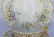 Pretty Dishes: Tea cups, Pitchers with teacups, sugar,creamer, plates/teacups, etc. / There are lots of pretty things on this board.  I have two other boards - one is for sets of dishes and the other is Pitchers, teapots, chocolate pots, coffee pots, silver pots, etc. / by Renna Holland