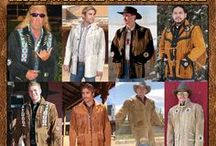 Men's Western Coats / Southwestern CoatsFrom Tribal And Western Impressions http://www.indianvillagemall.com/smmenscoats.html / by Tribal Impressions
