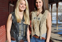 Lady's Handmade Fringed Vests / Lady's Handmade Fringed Vest Collection from Tribal Impressions- Review the extensive collection off of: http://www.indianvillagemall.com/smladyvests.html / by Tribal Impressions